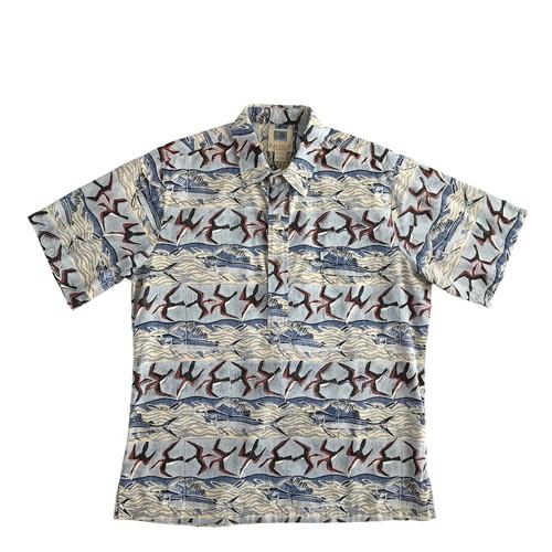 USEDアロハシャツ  カハラ  /  size L