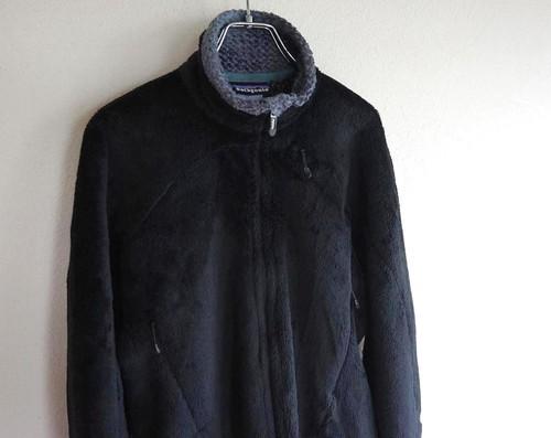 '07年製 [patagonia] R4 フリースジャケット ブラック 表記(women's S) パタゴニア