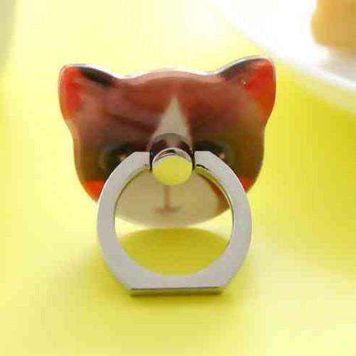 かわいい黒しろ猫 のスマホ ホールドリング スタンド 落下防止 携帯スタンド 携帯ホルダー pgab006