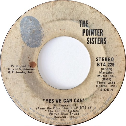 Pointer Sisters, The – Yes We Can Can / Jada