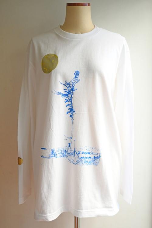 NO.478 南相馬奇跡の一本松のロングTシャツ【福島県】【Lサイズ】