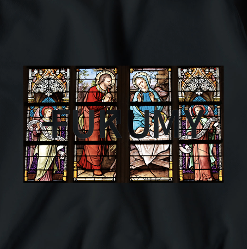 Stained glass Big Sweatshirt