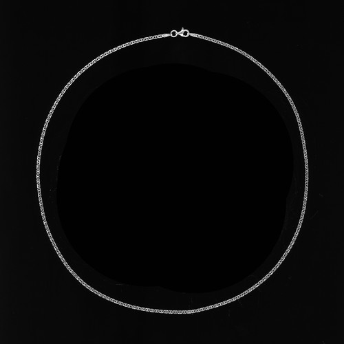 【SV1-12】20inch silver chain necklace