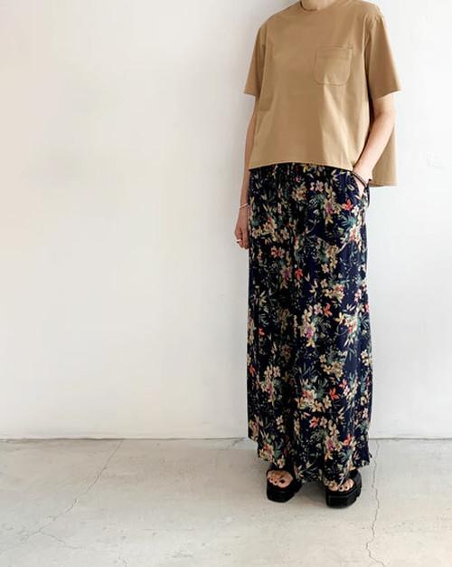 フレアー胸ポケットTシャツ / near.nippon