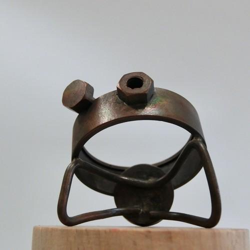 【カエル】e   真鍮 オーナメント #949
