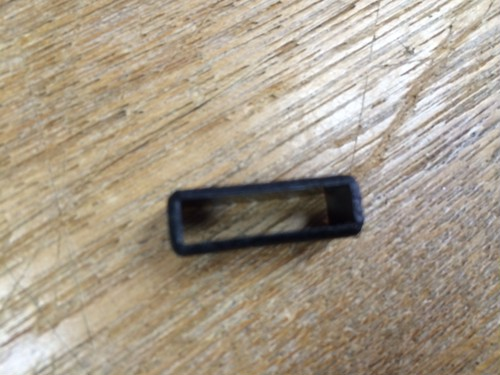 プラスチック サルカン 黒 15mm幅用 3個入り