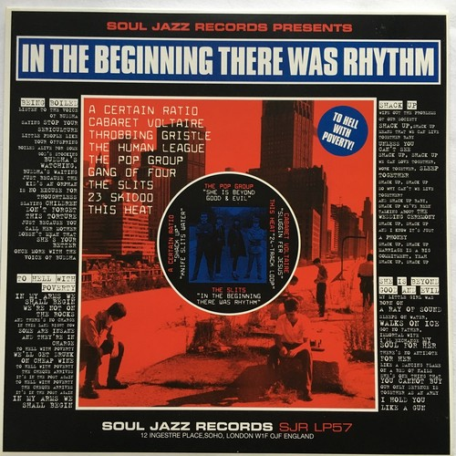 【LP x2・英盤】Various Artists  / In The Beginning There Was Rhythm