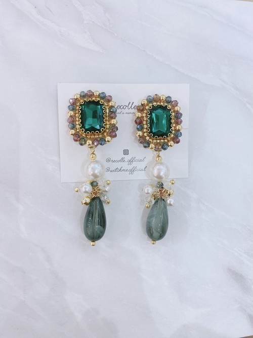 May vintage (emerald green)