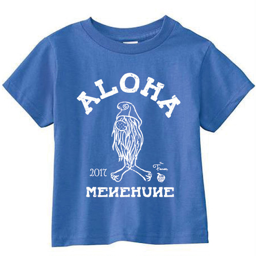[KID] MENEHUNE TEE NMC x the Fanon SPECIAL EDITION -ROYAL-