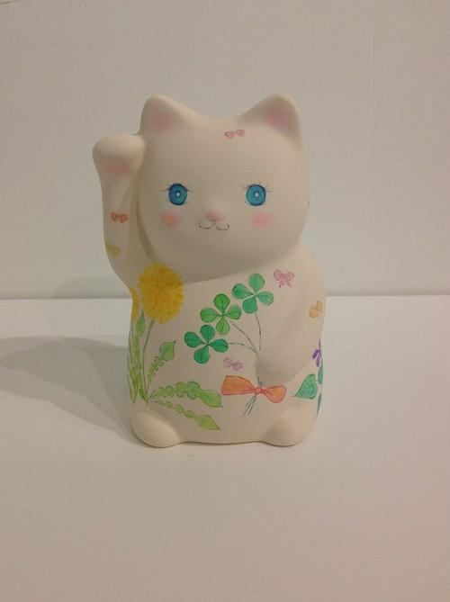 laviolaluna 招き猫 たんぽぽ