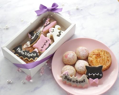 ハロウィン♡アイシングクッキー焼き菓子詰め合わせギフトボックス