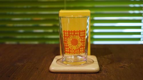 Life to meet you! sunflower glass