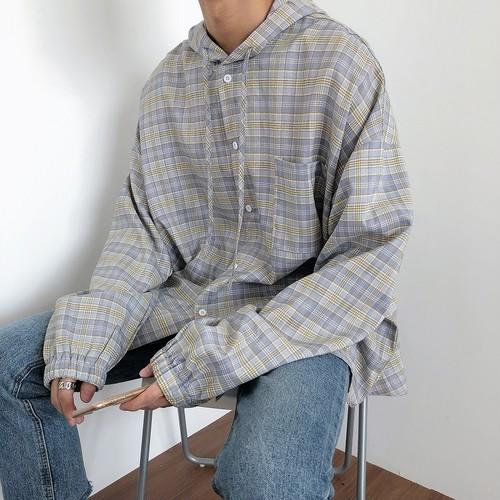 オーバーチェックシャツジャケット BL4520