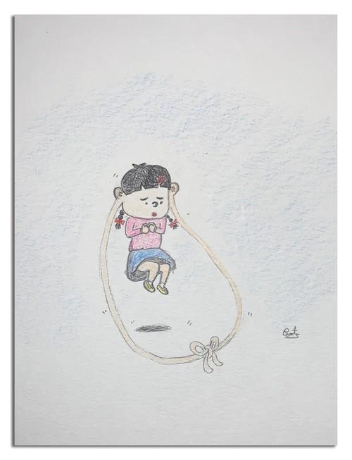 ピーナツ(ドーナツ・ピーナツ)『耳たぶ縄跳び』