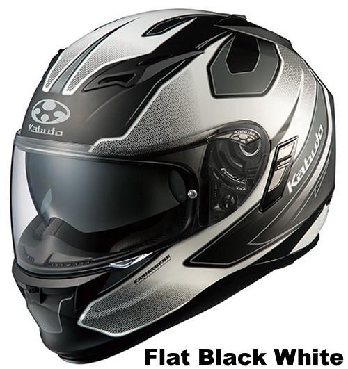OGK KAMUI 2 STINGER flat black white