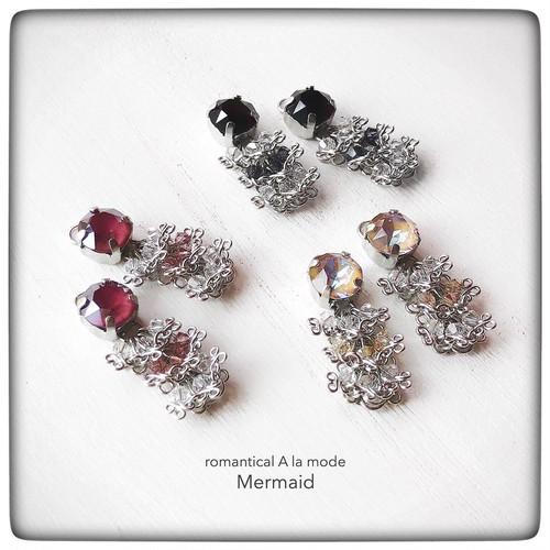 ▲ -Mermaid- マーメードイヤーチャーム《カラータイプ》
