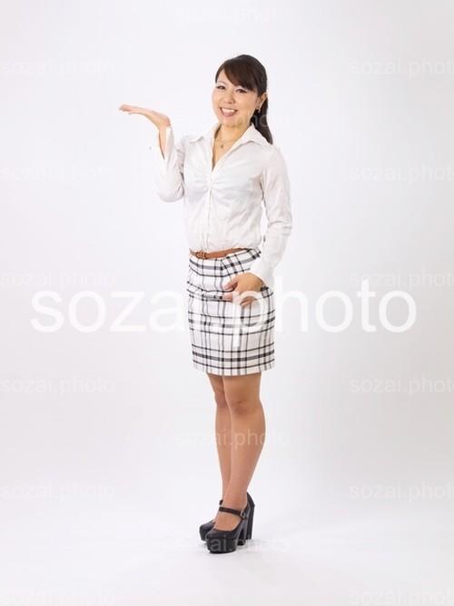 人物写真素材(shihona-8145872)