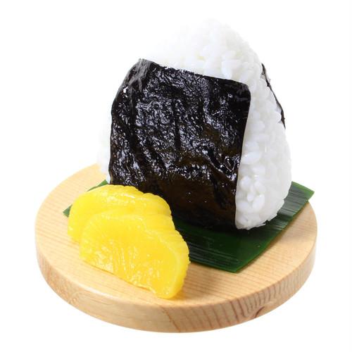 [9009]食品サンプル屋さんのスマホスタンド(おにぎり:海苔)【メール便不可】