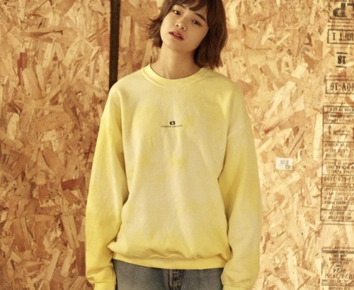 LOGO SWEAT(YELLOW)