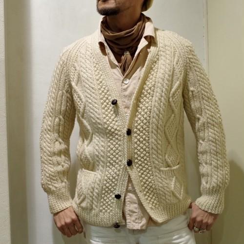 1960-70s Glenairn Handknitted Fisherman Sweaters / Vintage フィッシャーマン セーター カーディガン / アラン ニット