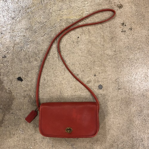 OLD COACH #Shoulder Bag Red ¥10,600+tax