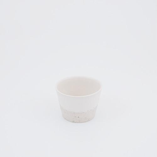 そばちょこ 白×白荒土【再入荷】