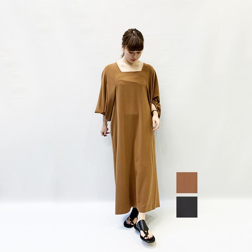 OUTERSUNSET(アウターサンセット) dolman sleeve onepiece 2020春物新作