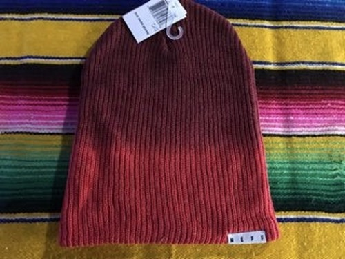 【NEFF】DUO WASH BEANIE (RED)