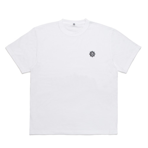 MASTERMIND LOGO EMBROIDERY T-SHIRT / WHITE
