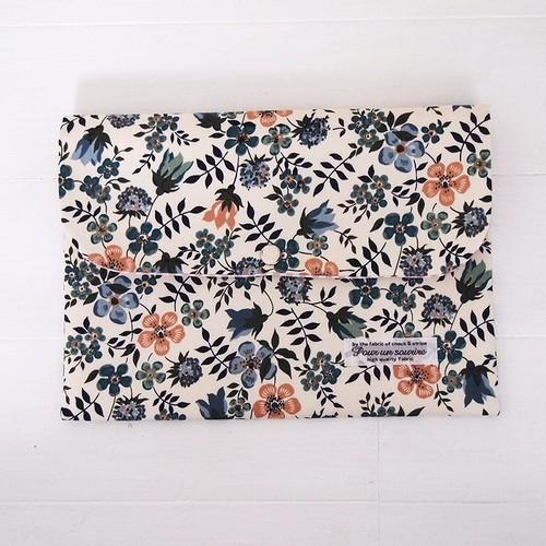リバティ 母子手帳ケース エディナム/シックトーン B6サイズ パスポートケース