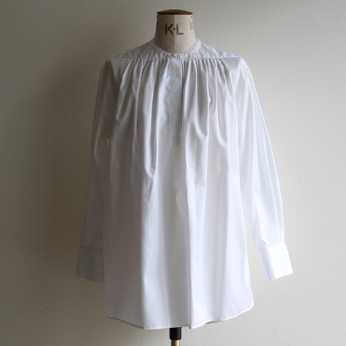 TENNE HANDCRAFTED MODERN【 womens 】horizontal tuck shirt