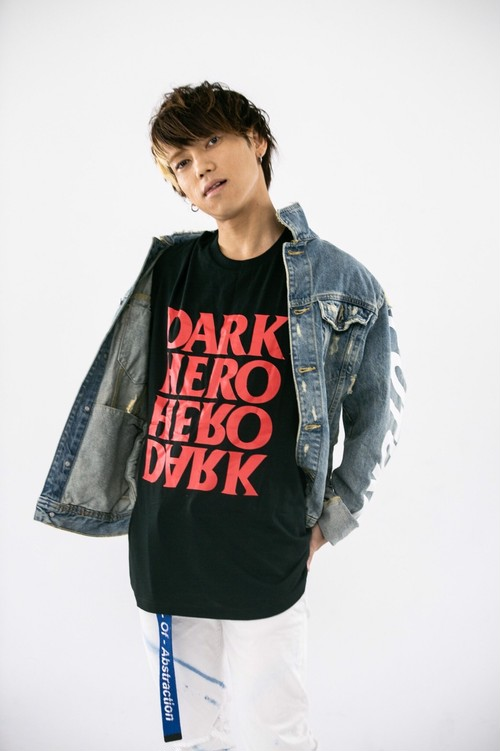 DARKHERO T-shirt 【RED】