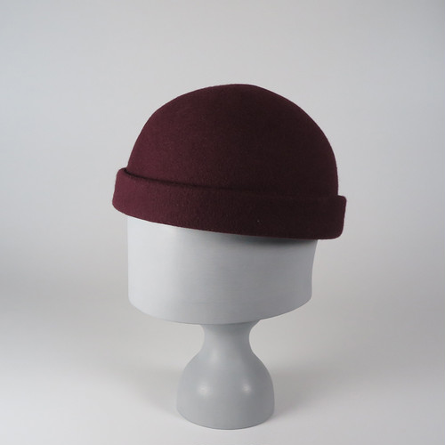 CW19-RC-1 Wool Felt Roll Cap WRD