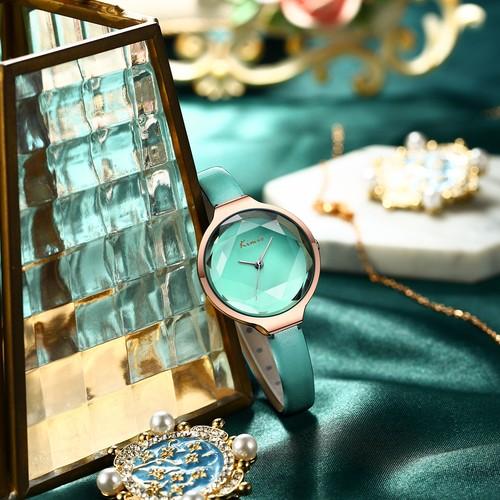 Kimio AF-Z1012 Facet(Peridot) レディース腕時計