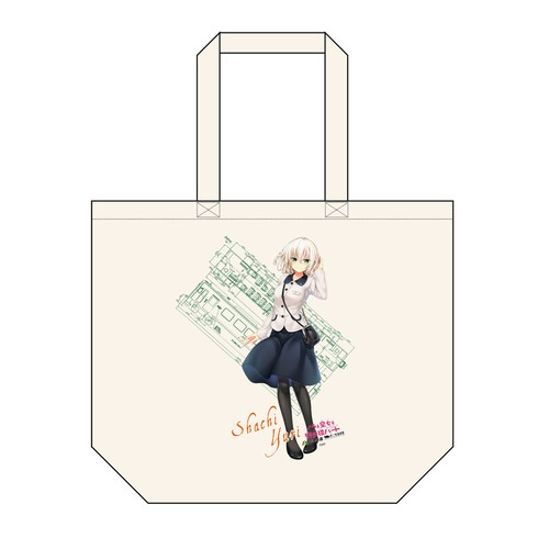 夕莉 シャチ【コラボ商品】トートバック