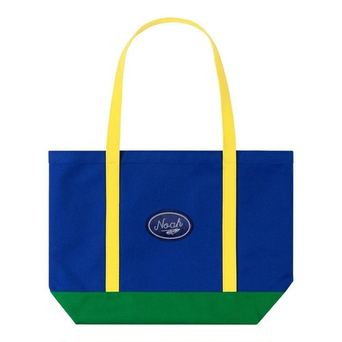 Color-Blocked Tote(Navy)