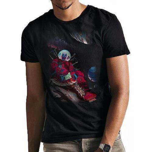 Tシャツ マーベル デッドプール イン スペース