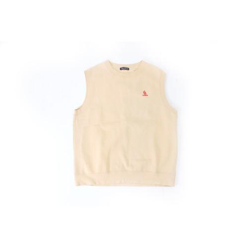 NAUTICA cream baige vest