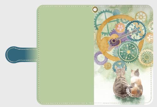 《愛しき世界》*iphone・Android手帳型スマホケース