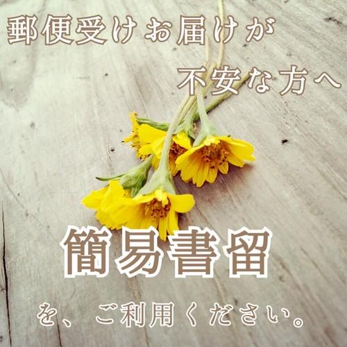 簡易書留(配達補償あり)