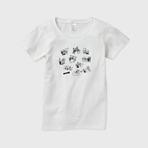 レディースTシャツ Mサイズ 白