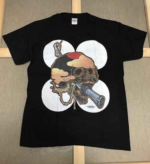 """黒Tシャツ"""" 阿 〜A~ """"白玉"""