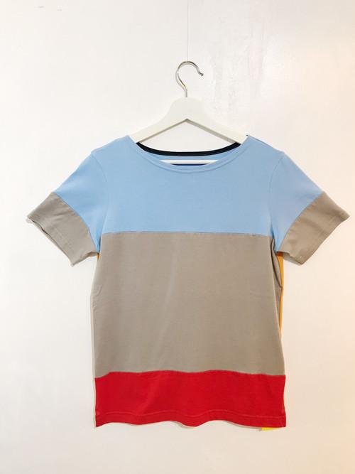 Colorful Tee【カラフル2WAY ロングTシャツ】L04