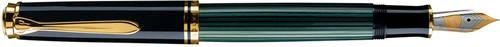 ペリカン 万年筆 スーベレーン M400 緑縞