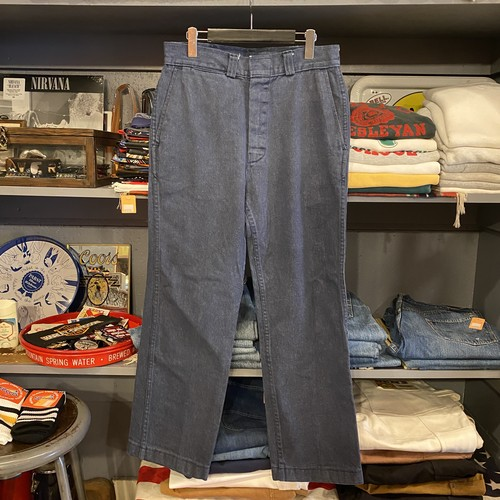 70s Denim Work Pants