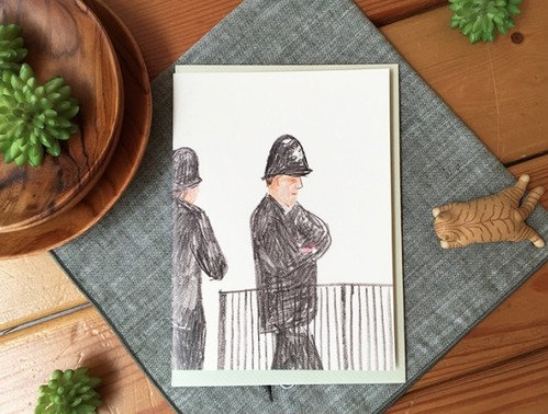 CLマルチカード ロンドンの警察官