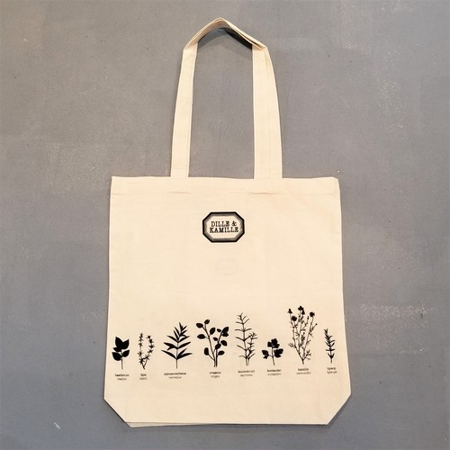 DILLE&KAMILLE  Herb pattern tote bag [B-269]