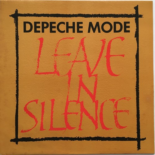 【12inch・英盤】Depeche Mode /  Leave In Silence