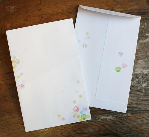 封筒「和のいろどり -甘菓子 -」