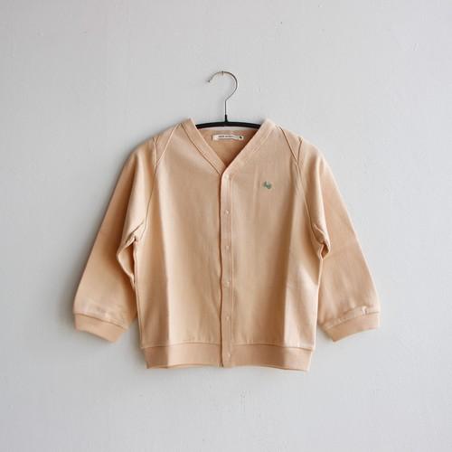 《mina perhonen 2020AW》zutto カーディガン / pink beige / 110cm